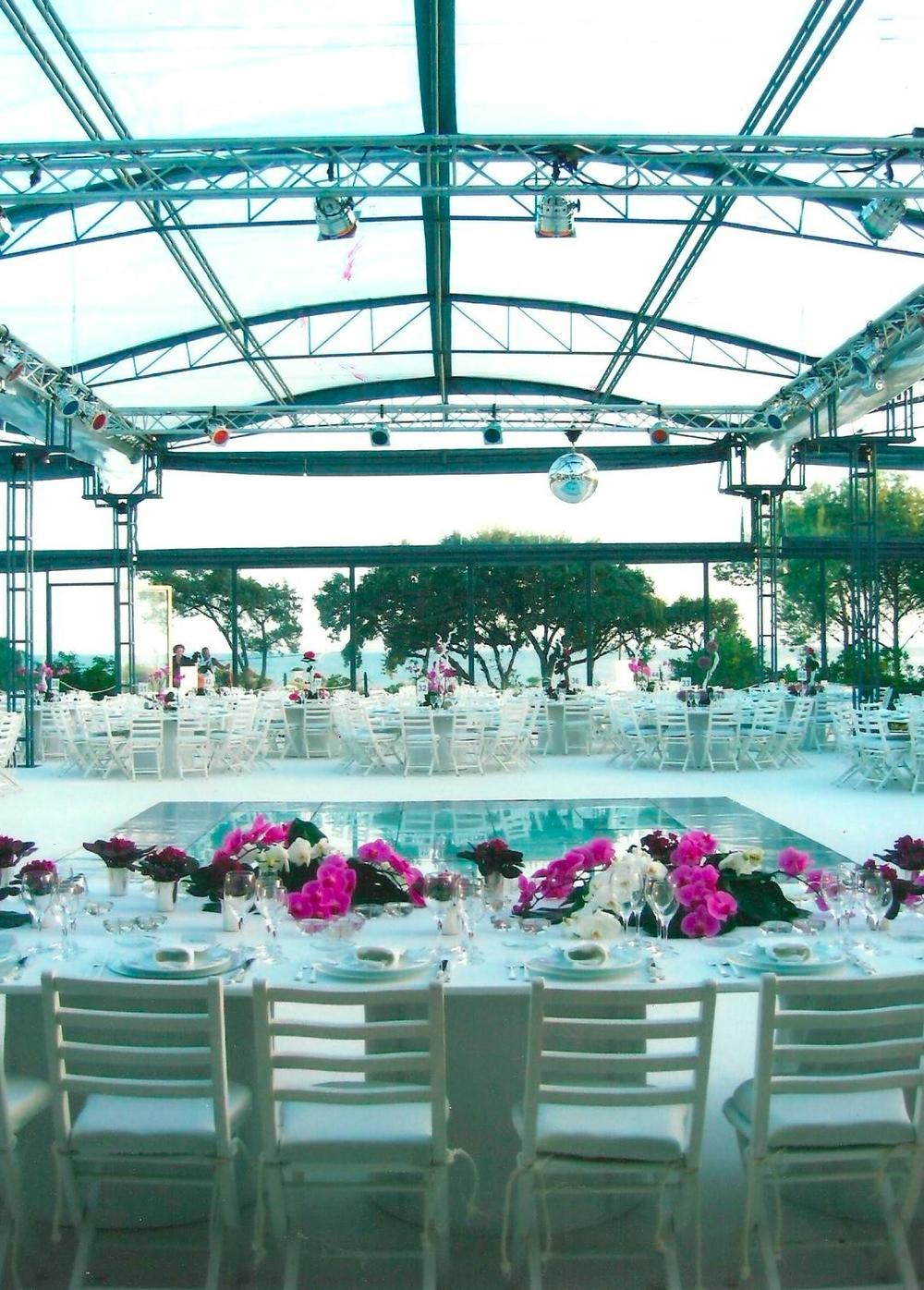 Venue decor for sea theme Wedding by The Wedding Portugal