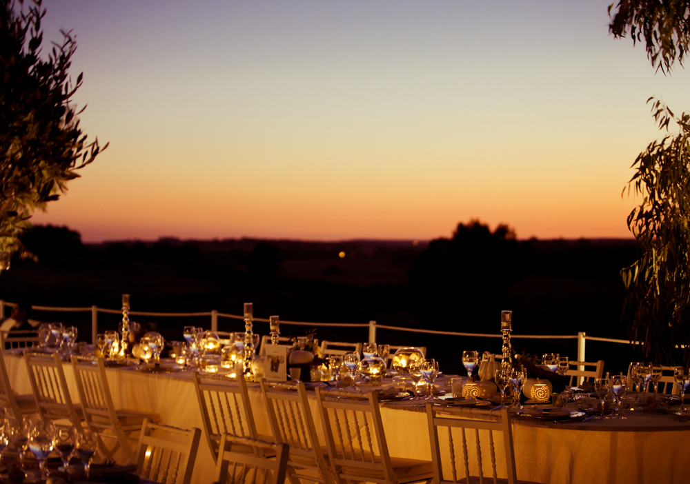 Evening sky at Alentejo wedding by The Wedding Portugal.jpg