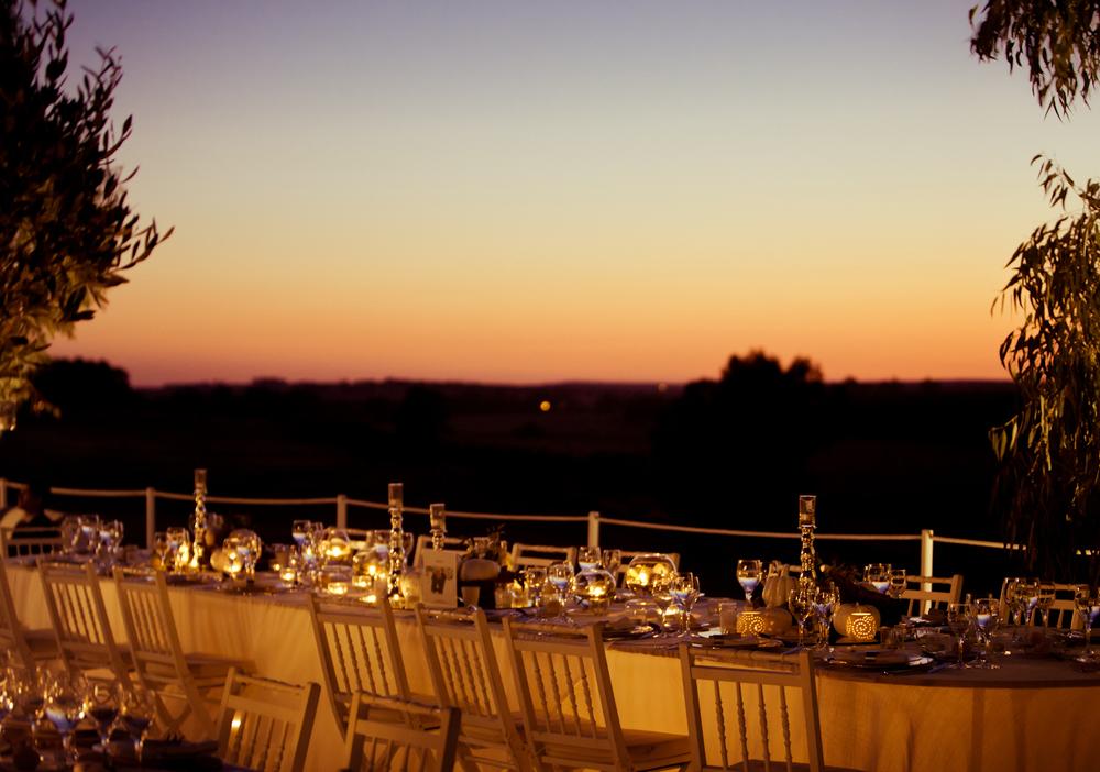 Evening sky at Alentejo wedding by The Wedding Portugal.jpg