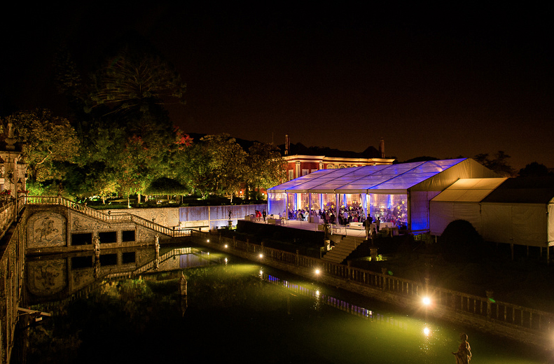 The wedding venue at night by The Wedding Portugal.jpg