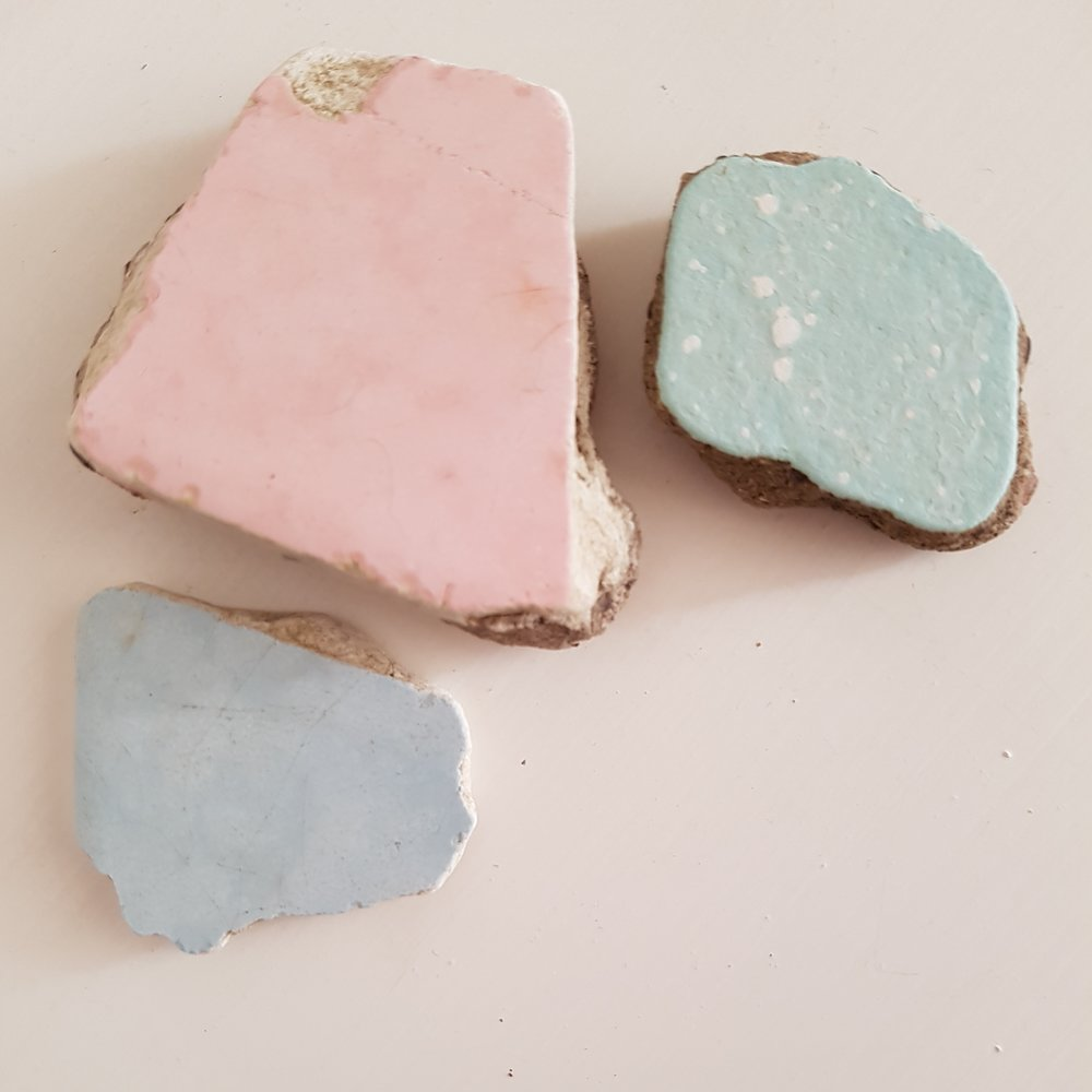 New beach finds - broken tile