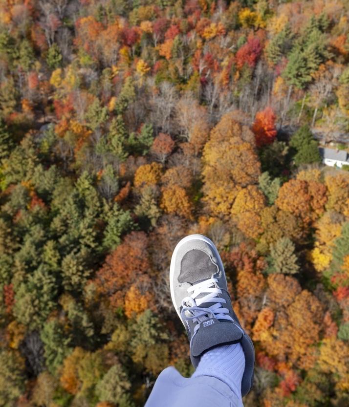 John Lavall over Vermont