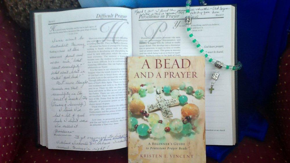 Prayer Journal and Prayer Beads