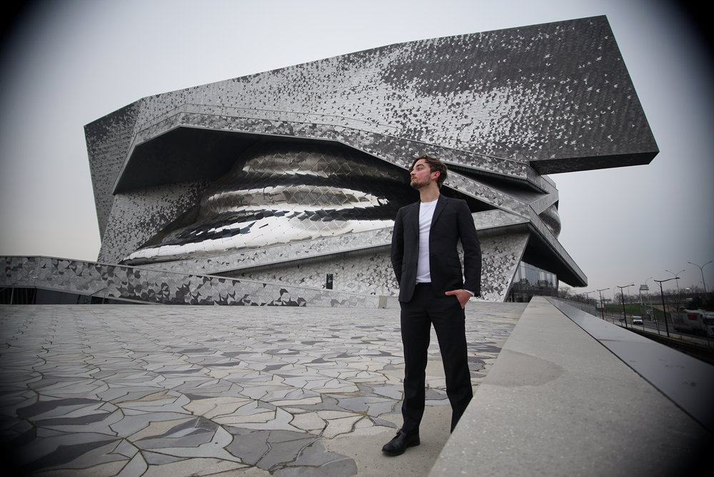 Ryan D'Herde at philharmonie de paris