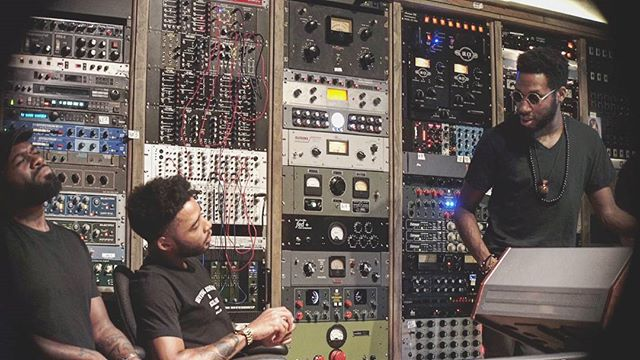 Who's ready for that #funkapostles record? We are... @_coryhenry @taroney @studiogbrooklyn . . . . . . . . . . . . . . . . . . . . . . . . . . . . . . . . . . . . . . . . . #studiog #Brooklyn #Coryhenry #thefunkapostles #Chandlerlimited #neve #recording #studiolife #film #sonya7s #grammy #winner #funk #howmanybodies #everybody #groundup #vintageking #gearslutz #Nuemann #nyc #newyorkcity #moog #organ #soul #distressor #modularsynth