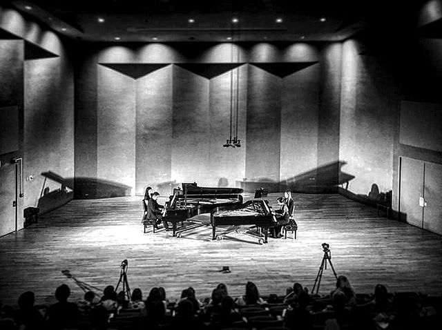 Two Piano concert at one of the best sounding halls in NY. PR, recording, film and direction by D'Herde East . . . . . . . . . . . . . . . . . . . . . . . . . . . . . . . . . . . . . . #suny #sunypurchase #piano #pianoensemble #twopiano #twopianoconcert #classical #nyconcert #purchaseny #shotonsony #nyc #concerthall #nyclassical #juilliard #bu #backtolife #reunion #baekyukim #yamahapiano #steinway #steinwaypianos #noisemaker #aboutlastnight #cannon #gopro #beahero