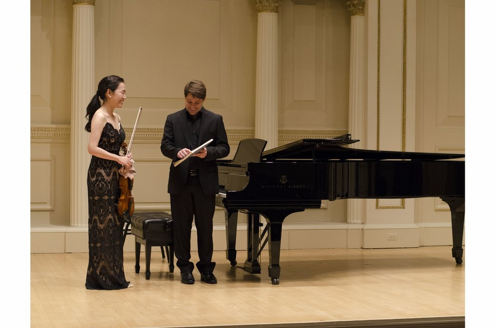Carnegie Hall Ryan D'Herde, Hyunjung Kim, victor canes
