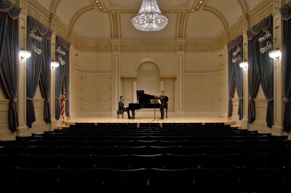 Dario Doronzo, Flugelhorn Pietro Gallo, Piano Ryan D'Herde