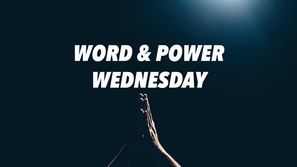 Word and Power Wednesday  Wednesday - 6:30pm  Fair Trade Cafe