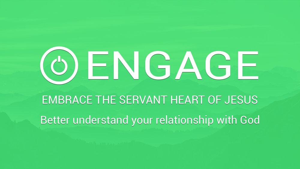 Engage   Mondays - 6:30PM  Fair Trade Cafe