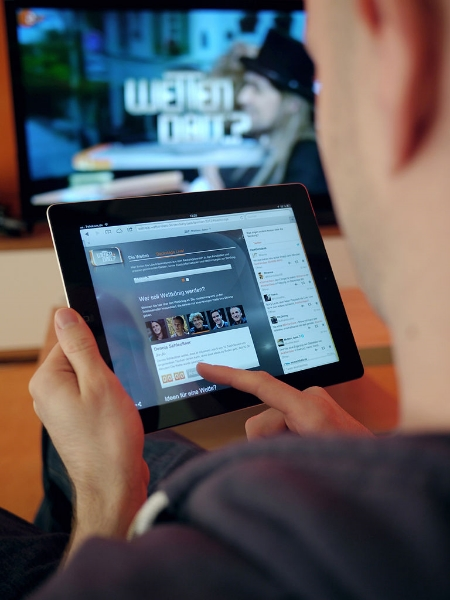 So-called 'second screen' activity can provide synergy when used effectively by advertisers, but is otherwise detracting from TV advert effectiveness.