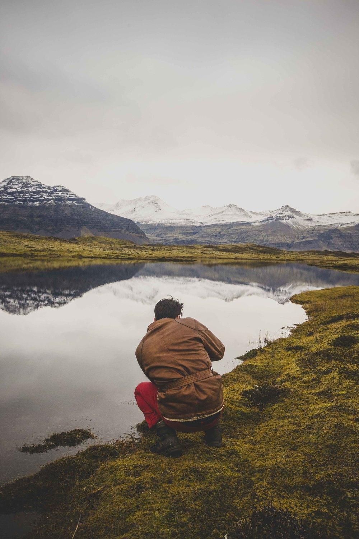 Joe Shutter hard at wark in Iceland.jpg