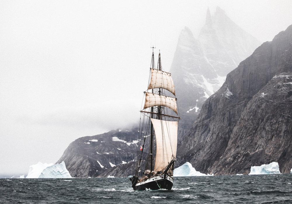 Silent Arctic Greenland Photography Workshop Schooner Opal