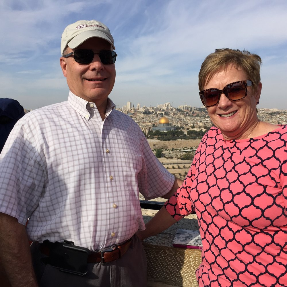 """Visiting Mount Olives in Jerusalem...a dream come true!"""