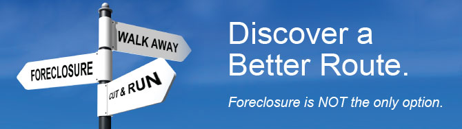 Talk to Us to Avoid Foreclosure