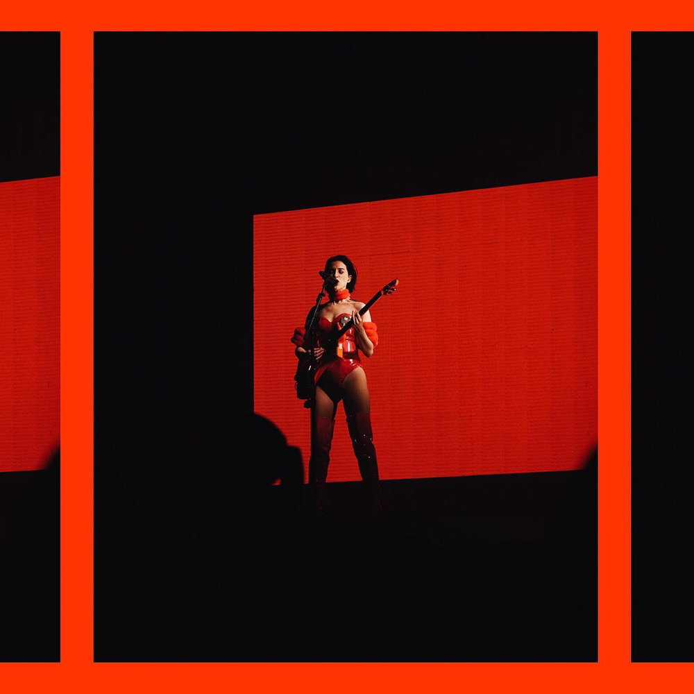 ST. VINCENT  - She's all around a bad ass woman. Everything she does makes me want to make art and push to be a visionary. (Photo by  Lauren Marek )