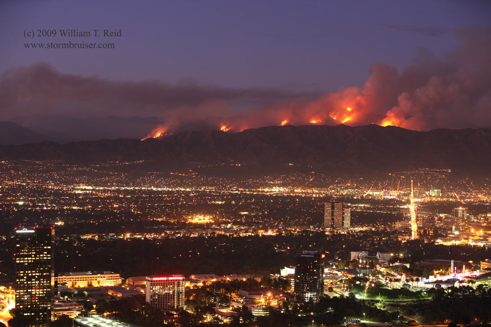 LA - San Gabriel Wildfires2017