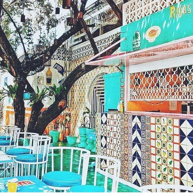 Possibly the worlds best print parlour 💎🦋💠 @motelmexicola #zola #zolalondon #motelmexicola #bali #seminyak #print #pattern #mexican #mosaiic #rainbow #pastel #location #inspiration