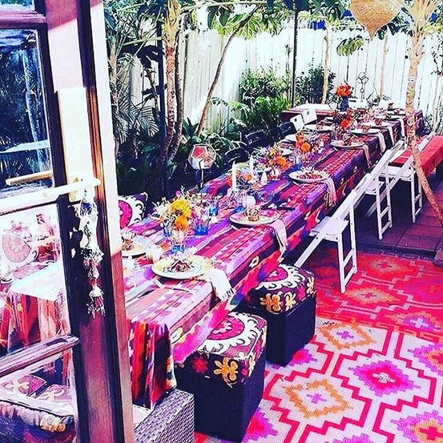 RAINBOW BANQUET 🌺🏩🔮 via @bohogypsyworld