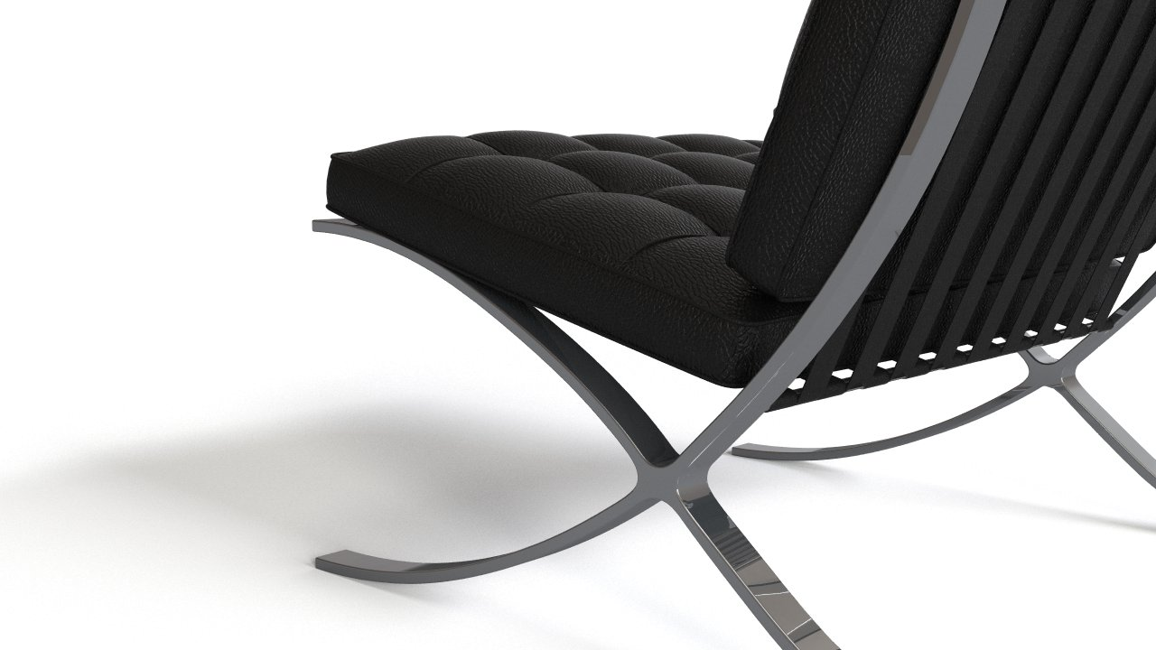 Van Der Rohe Barcelona Chair van der rohe barcelona chair & ottoman — wood art & design
