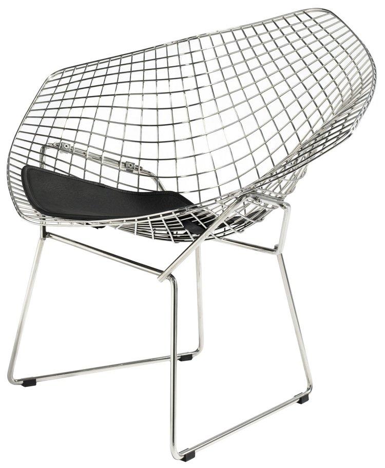 Harry Bertoia diamond chair — wood art & design