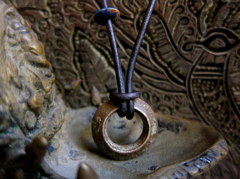 Ethiopian Wedding Ring Necklace Mens Necklace Necklace Man Antique