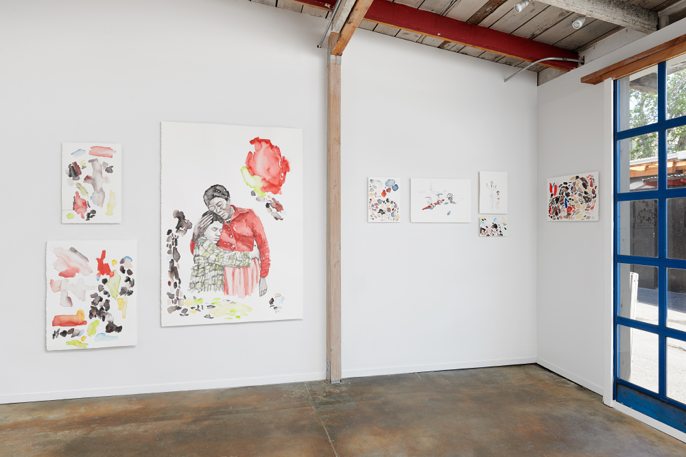 "Installation view, ""Good Times"" Interface Gallery 2016"