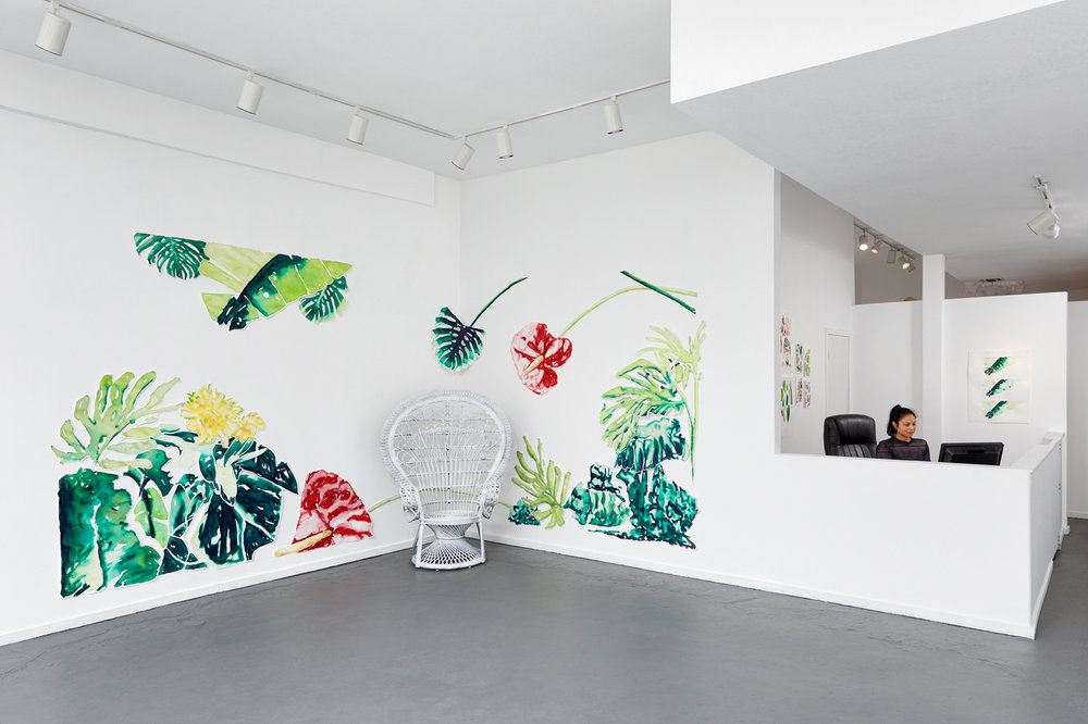 Installation view, Fantasy Island