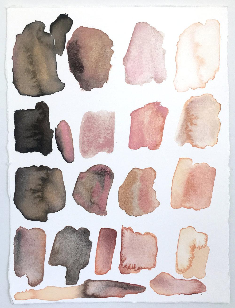 Palette: Flesh Tones