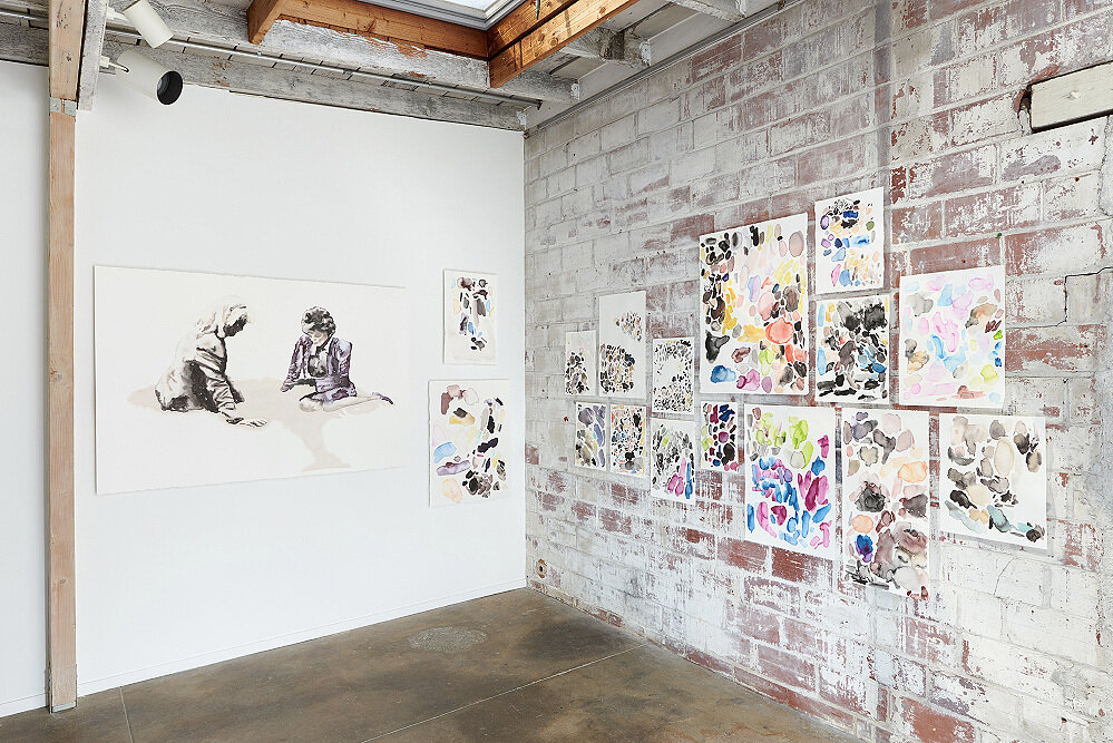 """Installation view, """"Good Times"""", Interface Gallery 2016"""