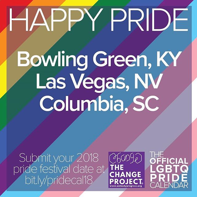 Happy Pride!!! #equality #shopprogress #lgbtpride #gay #pride #lasvegas #bowlinggreen #columbia #queer #queerpride #gaypride