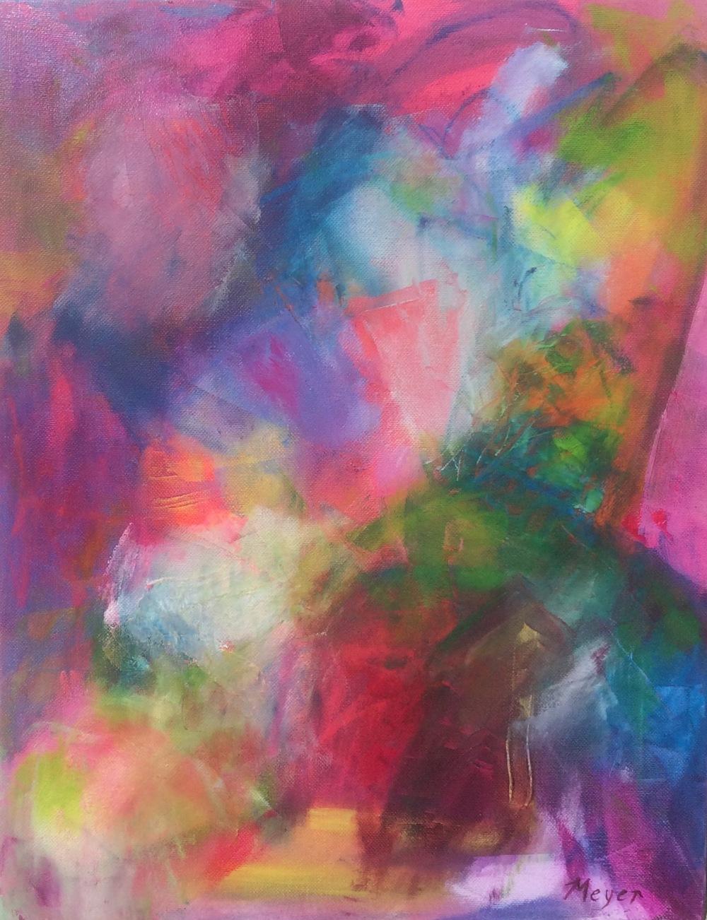 BEND - Chloe Meyer, 14 x 18, oil on canvas