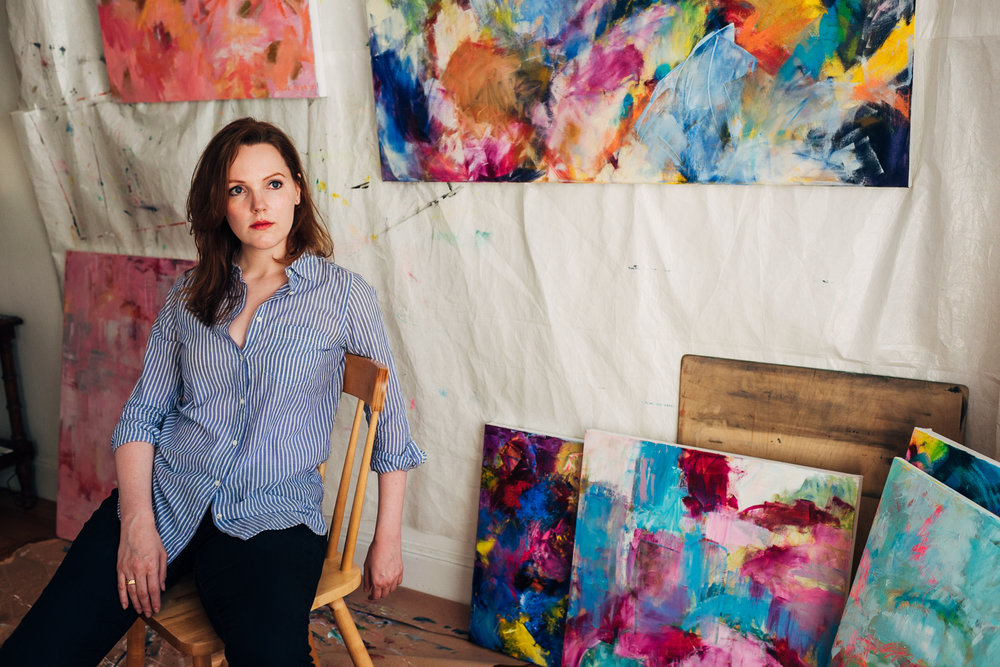 Chloe Meyer artist John Bosley