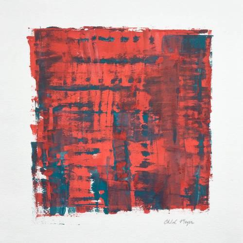 """SEEKING 1, Chloé Meyer, 10"""" x 11"""", ink on paper"""