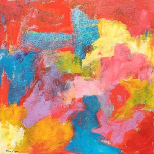 It's All Joy, original abstract art by Chloé Meyer