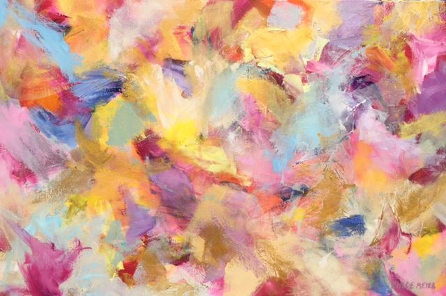 "PRIZES, Chloé Meyer, 24"" x 36"", oil on canvas"
