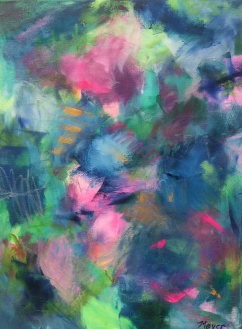 FOUR - Chloe Meyer, 18 x 24, oil on canvas