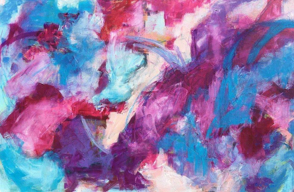 """TWILIGHT, Chloé Meyer, 24"""" X 36"""", oil on canvas"""