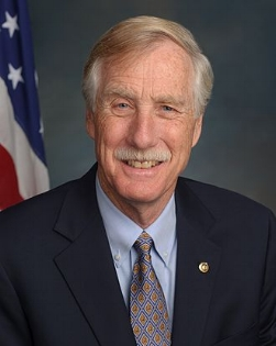 Senator Angus King (I-MA) Cosponsor of S 1286 Freedom to Export to Cuba Act, S 1287 Freedom for Americans to Travel to Cuba Act & S 275 Agricultural Export Expansion Act