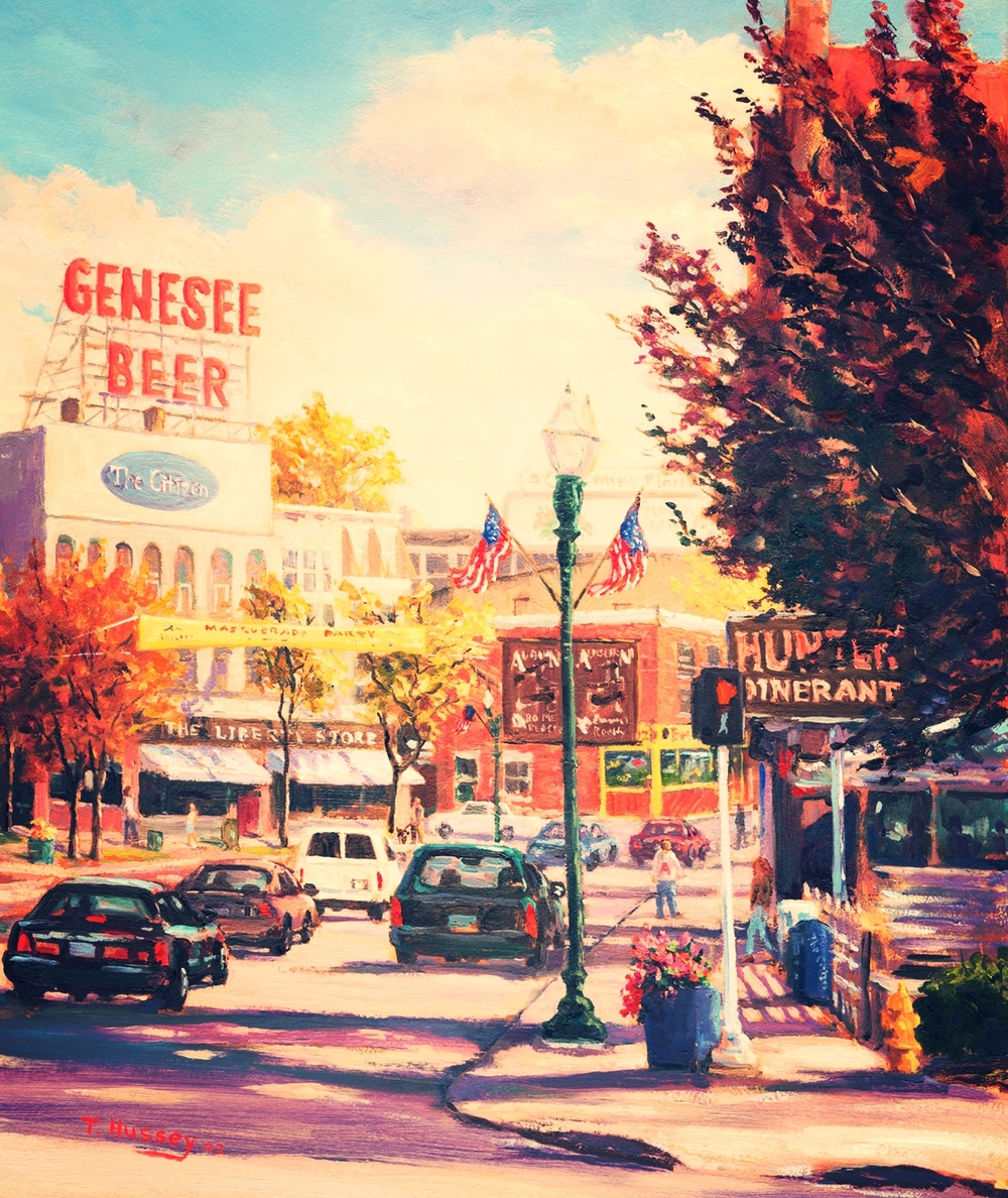 East Genesee Street by Artist Tom Hussey