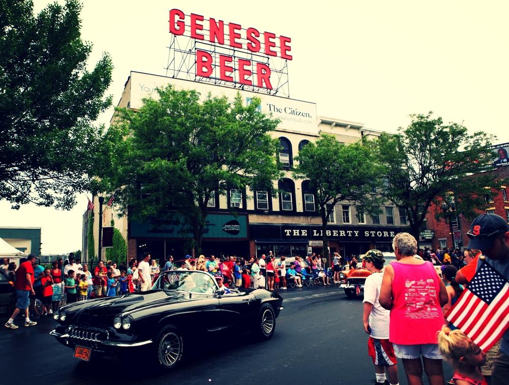 Memorial Day Parade, Genesee Street