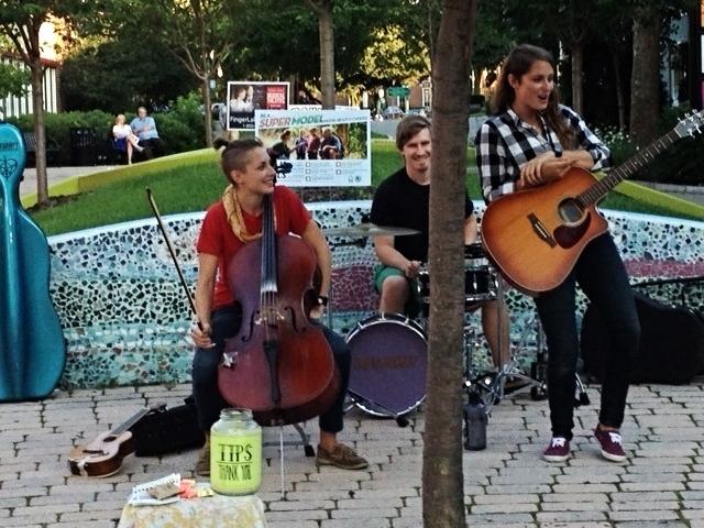 Musicians on Exchange Street