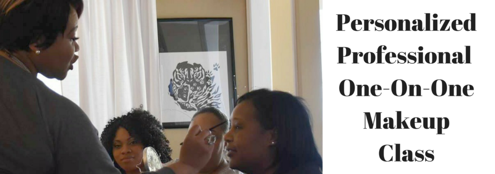 Jameelah Scott Makeup Artistry Personalized Professional One on One Makeup Class