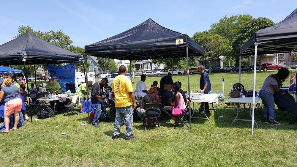 2017 Brotherhood of Barbers event, Ogden Park, Chicago
