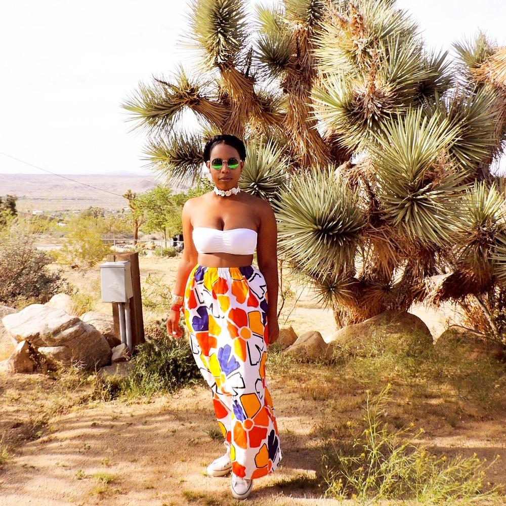 Coachella Outfit floral skirt.jpg