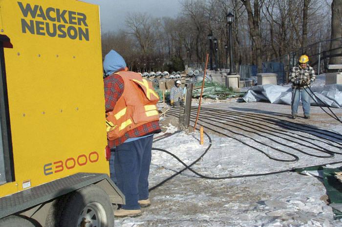 Rent A Ground Heater In Michigan Remote Heat