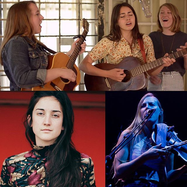 In the next two months @darlingside @thomasjohncadrin johncadrin and @dannyfromthehammy have the distinct pleasure of sharing the road with @hallianderson @lulawiles and @mollyparden all outstanding musicians and beautiful souls. We are lucky fellas. #internationalwomensday