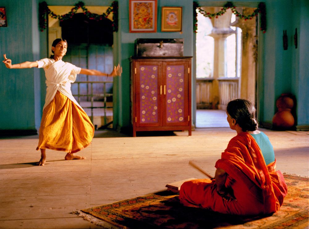 Vanaja learns a Kuchipudi dance jati from Rama Devi.jpg