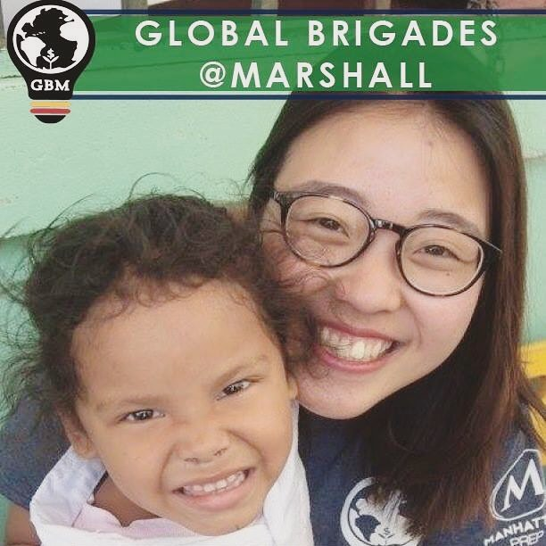 GBM wants to wish our Co-President, Jackie, a happy birthday! Too bad she doesn't have an insta #ohwell #happybirthday #globalbrigades #gbm