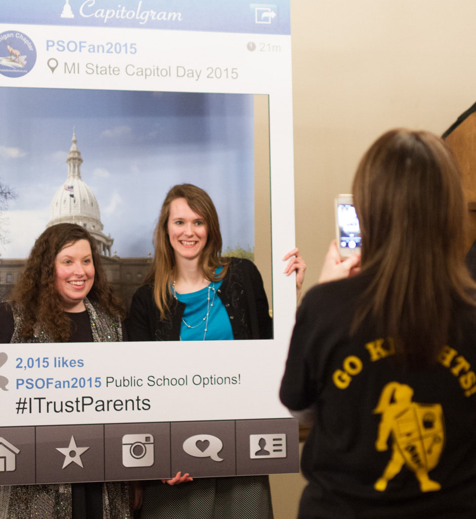 PSO Capitol Day Selfie Station - 2015